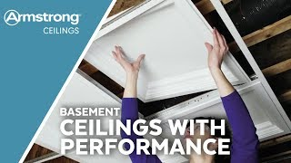Basement Ceilings With Performance |  Armstrong Ceilings For The Home