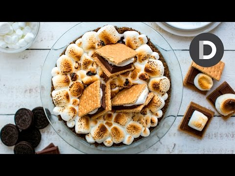 Smores Pie Feat. Brandi Milloy from POPSUGAR FOOD!