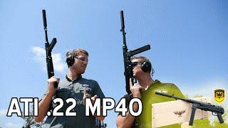 .22 MP40 from ATI vs. German WWII MP40 !!!!