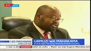 Mahakama kuu ya Kisumu imetupilia mbali kesi ya kupinga ushindi wa gavana wa Kisumu