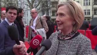 Hillary Clinton meets Johnny Depp