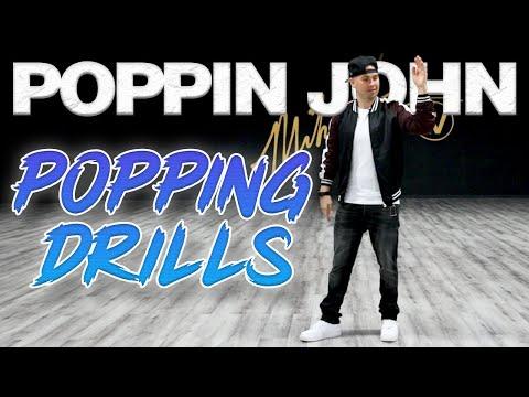 Popping Drills (Dance Moves Tutorials) Poppin John | MihranTV (@MIHRANKSTUDIOS)