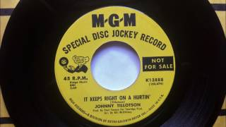 It Keeps Right On A Hurtin' , Johnny Tillotson , 1962 45RPM