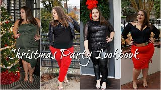 PLUS SIZE HOLIDAY LOOKBOOK 2018 | 6 AFFORDABLE CHRISTMAS PARTY OUTFITS