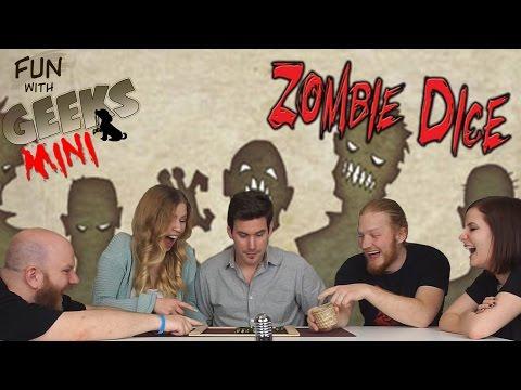Fun With Geeks Mini | Zombie Dice (Viktória, Julcsi, Sirius, Kaci) - Fun With Geeks