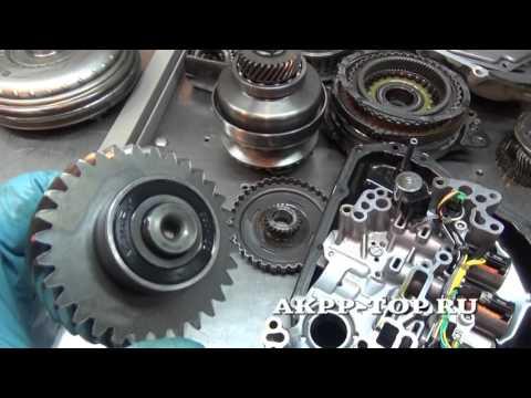Ремонт вариатора Ниссан Жук CVT JF015E (1080p)