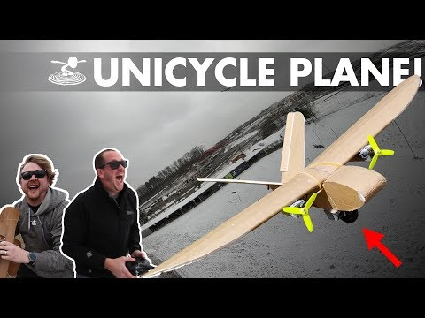 unicycle-landing-gear-plane