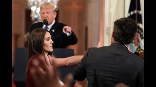 President Trump - Jim Acosta press conference