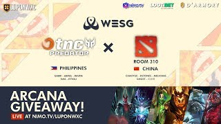 TNC Predator vs Room310 Game 1 (BO2) | WESG 2018