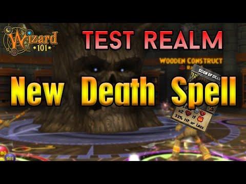 Wizard101 Test Realm | Scion Of Death Spell - смотреть онлайн на Hah
