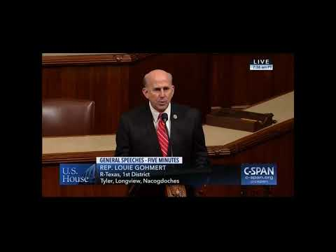 Gohmert Speaks on House Floor about the Importance of Passing the ASAP Bill
