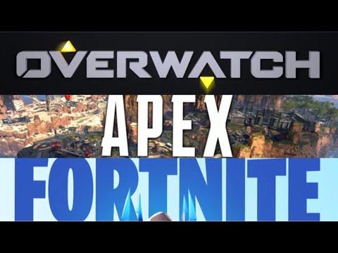 Overwatch Vs Apex Legends Vs Fortnite