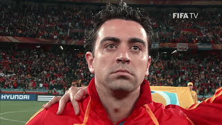 Xavi Looks Back At World Cup, Euro Success (EXCLUSIVE)