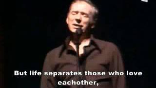 Les Feuilles Mortes - Yves Montand (English Subtitle)