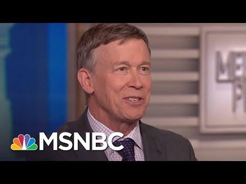 John Hickenlooper: 'It's More Than That' On Mental Health In Gun Debate (Full) | MTP Daily | MSNBC