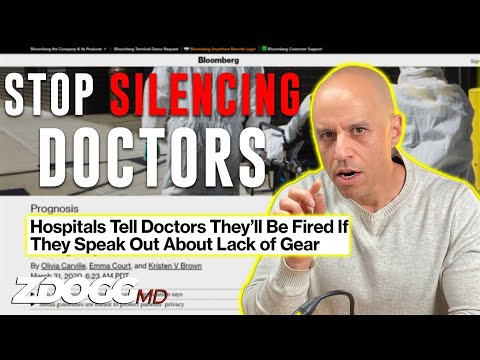 Stop Silencing Doctors: A Clinician Manifesto - Respected Doctor Speaks out about MBA's leading hospitals