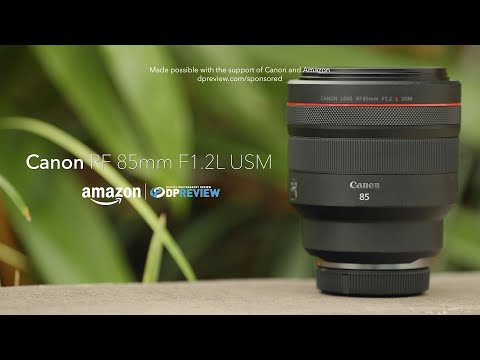 External Review Video MvlvrDAR_Uk for Canon RF 85mm F1.2L USM DS Lens