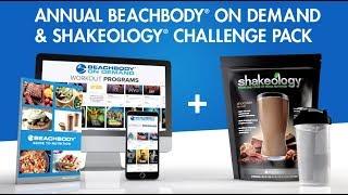 Annual Beachbody On Demand & Shakeology Challenge Pack