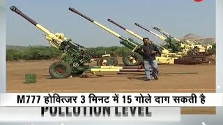 Artillery Guns K9 Vajra, M777 Howitzers Inducted In Army