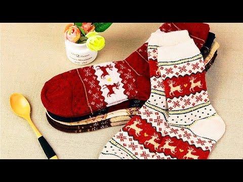Теплые женские носки с сайта AliExpress / Warm Women's Socks on AliExpress