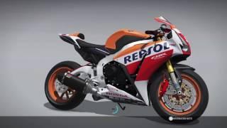 Ride 2 /// PS4 \\\ CUSTOMIZATION & TESTING HONDA CBR 1000RR / FIREBLADE SP