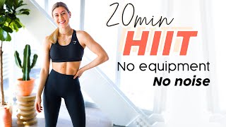 20 Min No Impact Home HIIT Workout -No equipment