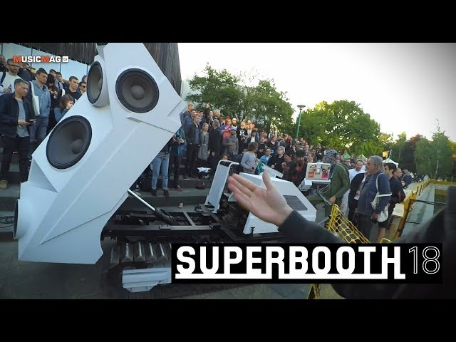 Superbooth18 - backstage
