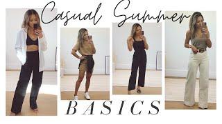 Casual Summer Basics