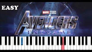avengers endgame theme piano easy slow - TH-Clip