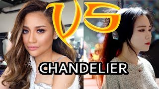 JFla VS Morissette Amon Sings Chandelier | Who Sang It Better?