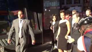 Jennifer Hudson Alicia Keys walking in the streets of New York
