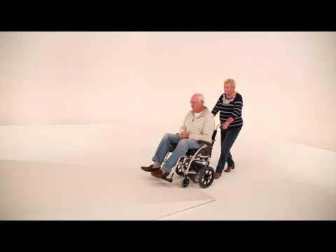 Wheelchairs - No More Struggling to Push A Wheelchair with the TGA Wheelchair Powerpack YouTube video thumbnail
