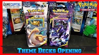 Pokemon UNIFIED MINDS Theme Deck Opening & Review Featuring Dragonite & Necrozma
