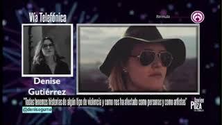 Javier Poza Entrevista A Denise Gutiérrez