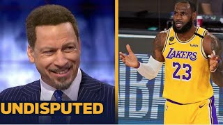 UNDISPUTED   Chris Broussard Think Lillard's Blazers could challenge LeBron, AD & #1 seed Lakers