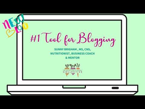 TNHC #1 Tool for Blogging