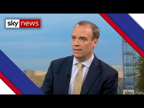 Dominic Raab explains Govt's logic behind tier system criteria