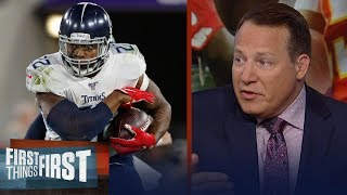 Derrick Henry has to have a big game for Titans to upset Chiefs — Mangini | NFL | FIRST THINGS FIRST