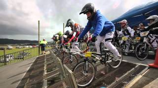 preview picture of video 'Whangarei BMX Club - Pre North Island Champs Meeting'