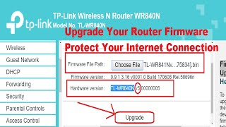 how to update tp link router firmware 2019 - TH-Clip