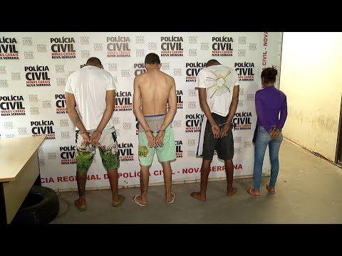 OPERAÇÃO: 5 presos em Araújos e Perdigão