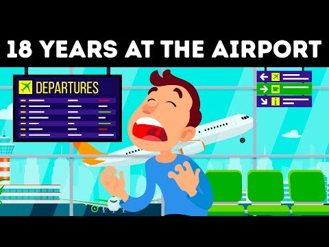 A Man Spent 18 YEARS at the Airport