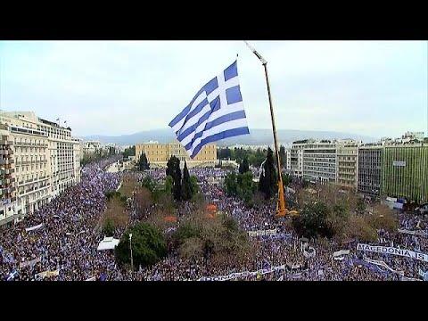 Greeks rally over Macedonia name dispute