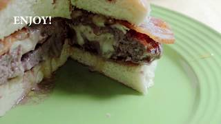 Bacon Brie Burgers