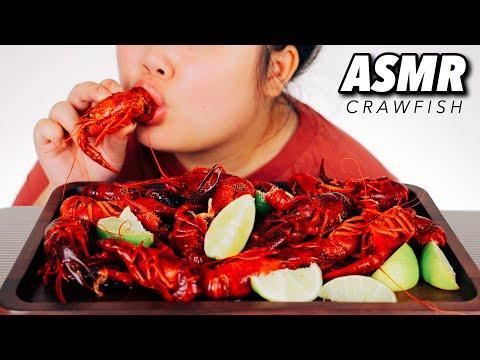 ASMR SEAFOOD BOIL CRAWFISH MUKBANG 먹방 EATING SHOW (NO TALKING EATING SOUNDS)