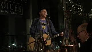 """I'm Not The Guy""  Dan Bern @ City Vineyard,NYC 12-18-2017"