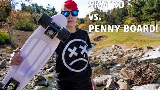 Penny Board VS. Skatro