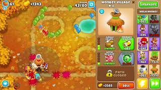 BTD6 - Crazy Hand-Cramping Druid+Bank Cash Farm with Double