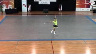 4. Place European Champion Majorettes Sport 2016 2 BATON Seniors solo