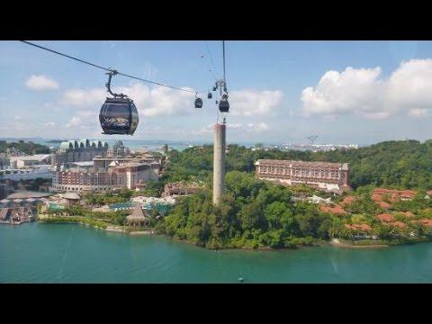 Singapore Cable Car & Sentosa Island